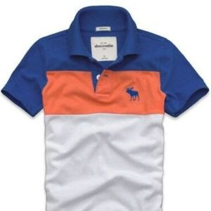 ABERCROMBIE & FITCH A&F Boys Polo Shirt 11-12 L